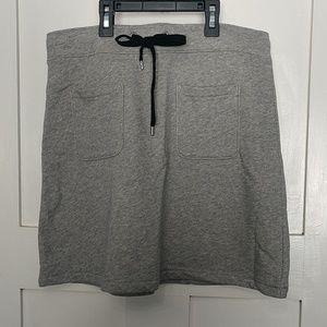 J. Crew Merchantile Cotton Terry Mini Skirt